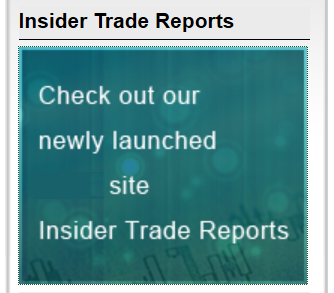 Insider Trade Reports