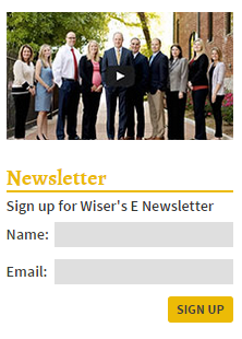 Wiser Newsletter Signup