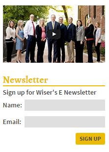 Wiser Newsletter Signup