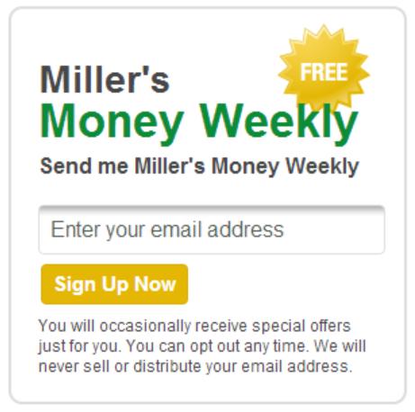 Miller's Money
