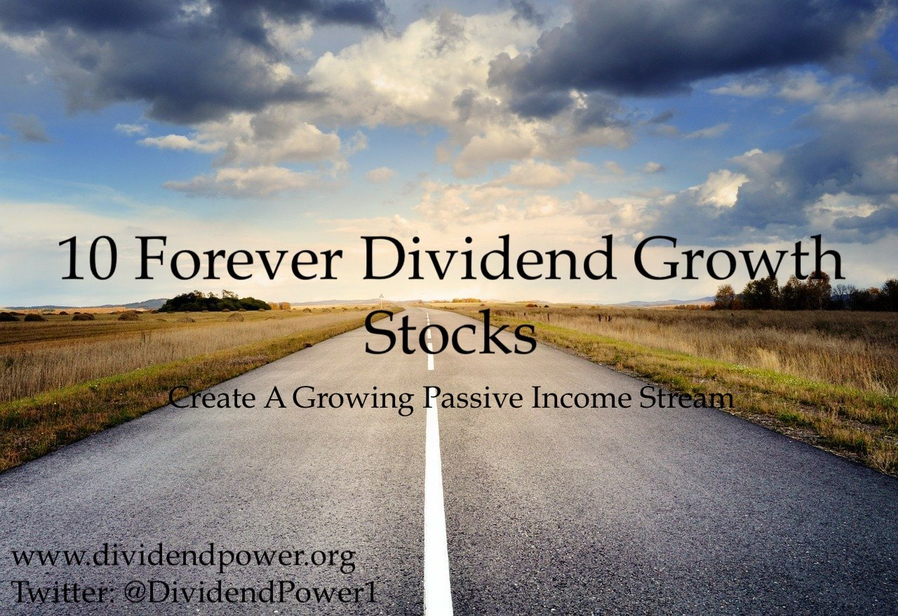 10 Forever Dividend Growth Stocks