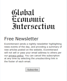 EconIntersect Free Newsletter