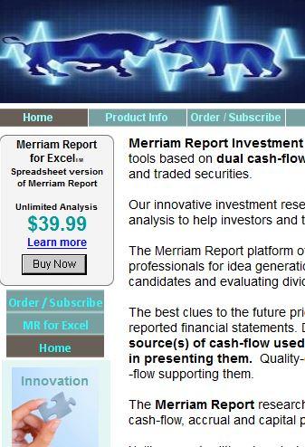 Merriam Report Investment Research