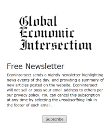 Global Economic Intsersection