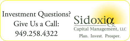 Sidoxia Capital Management, LLC