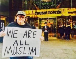 "Submitted by Moore to Facebook and captioned ""Me at Trump Tower, December 16, 2015, 3:35pm."""